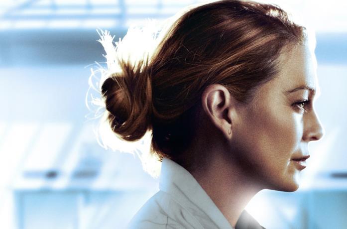 Il poster di Grey's Anatomy 17 con Meredith protagonista