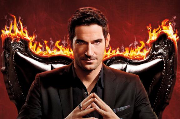 Tom Ellis è Lucifer Morningstar nella serie Netflix