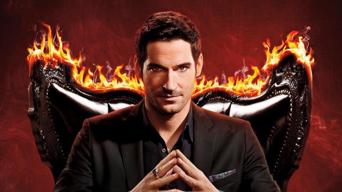 Tom Ellis è Lucifer Morningstar nella serie Netflix