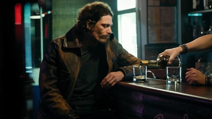 Buratti beve un calvados