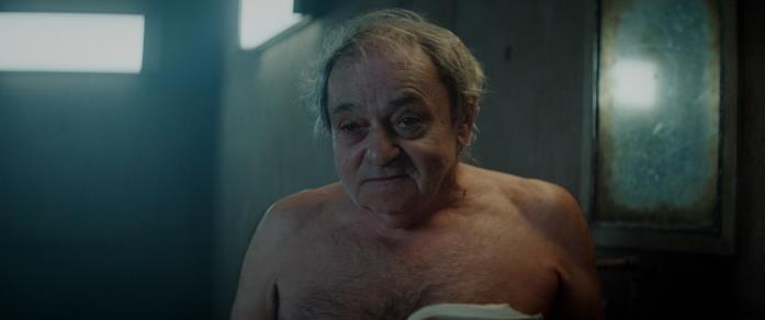 Zorion Eguileor in una scena del film Il buco