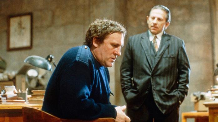 Una pura formalità: Gerard Depardieu e Roman Polanski in una scena del film