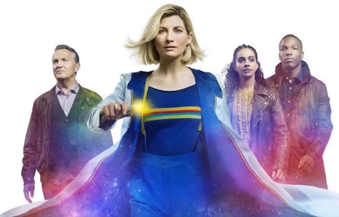 Un'immagine promozionale dalla stagione 12 di Doctor Who