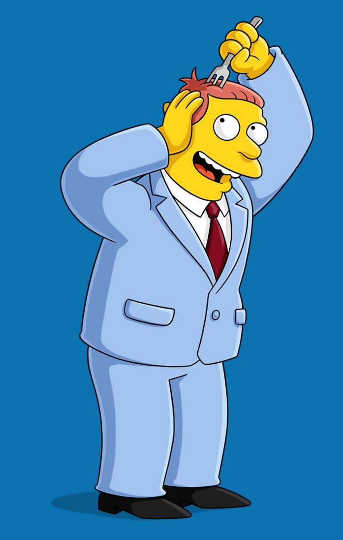 L'avvocato Lionel Hutz dei Simpson