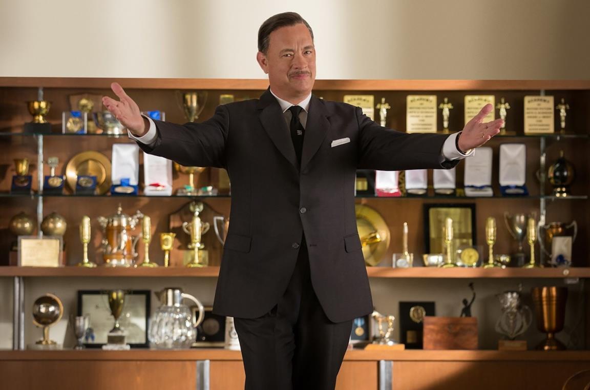 Tom Hanks è Walt Disney in Saving Mr. Banks