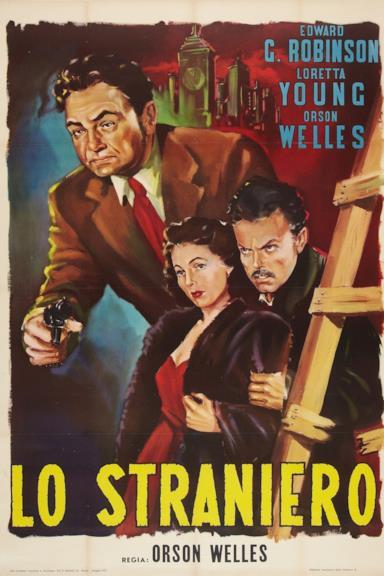 Poster Lo straniero