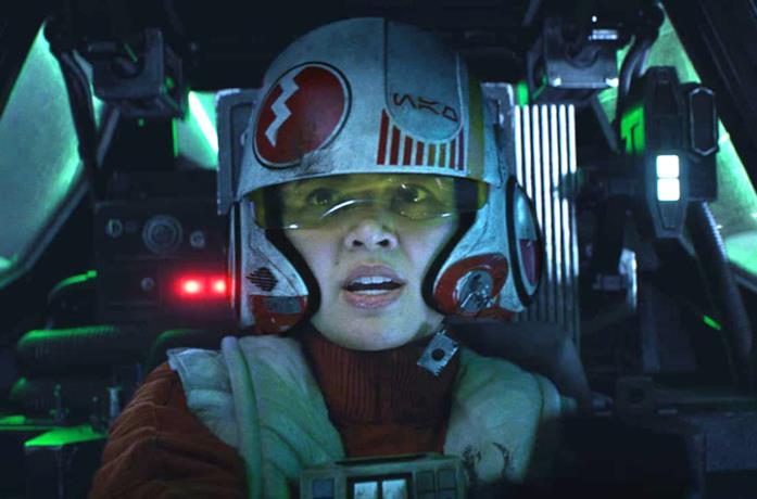Jess Pava in una scena di Star Wars