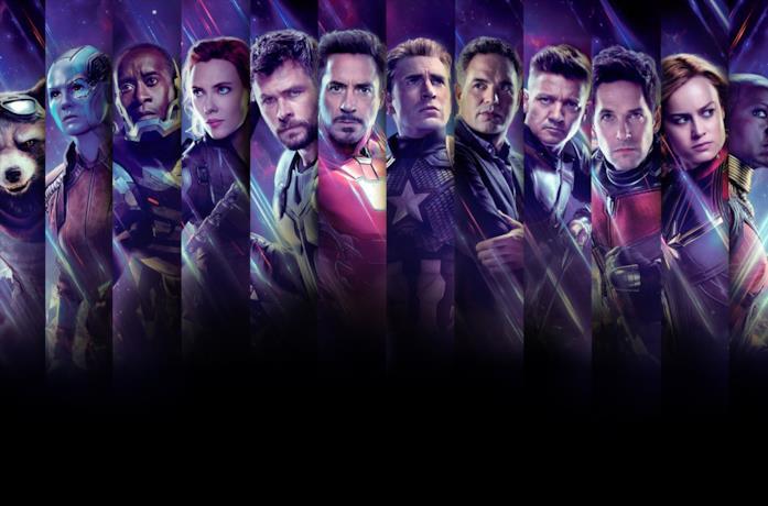 I Vendicatori nel poster ufficiale di Avengers: Endgame