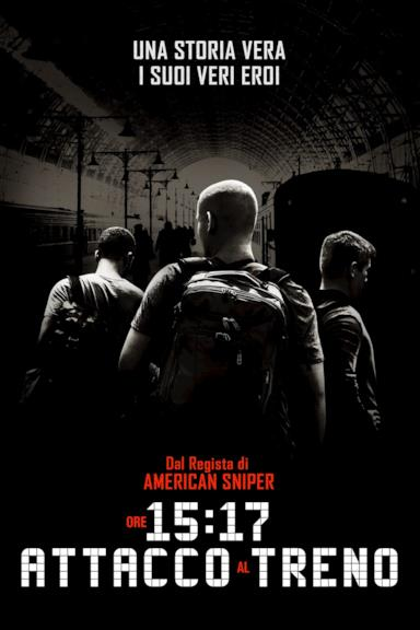 Poster Ore 15:17 - Attacco al treno