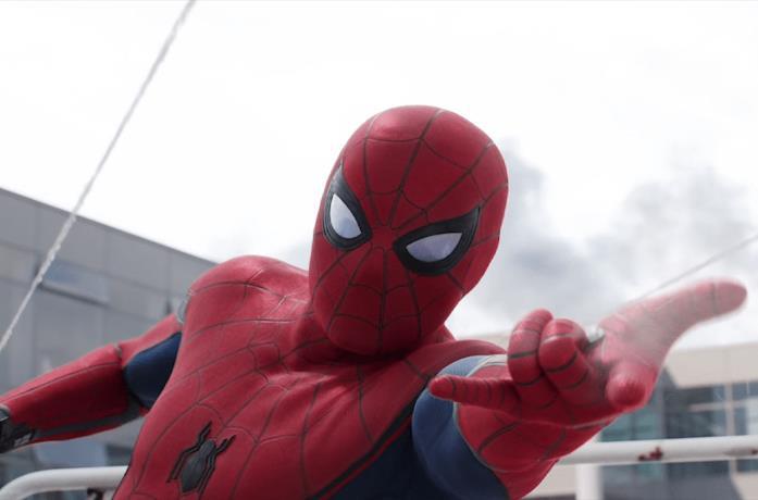 Un'immagine di Spider-Man in Civil War