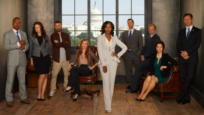 Il cast di Scandal