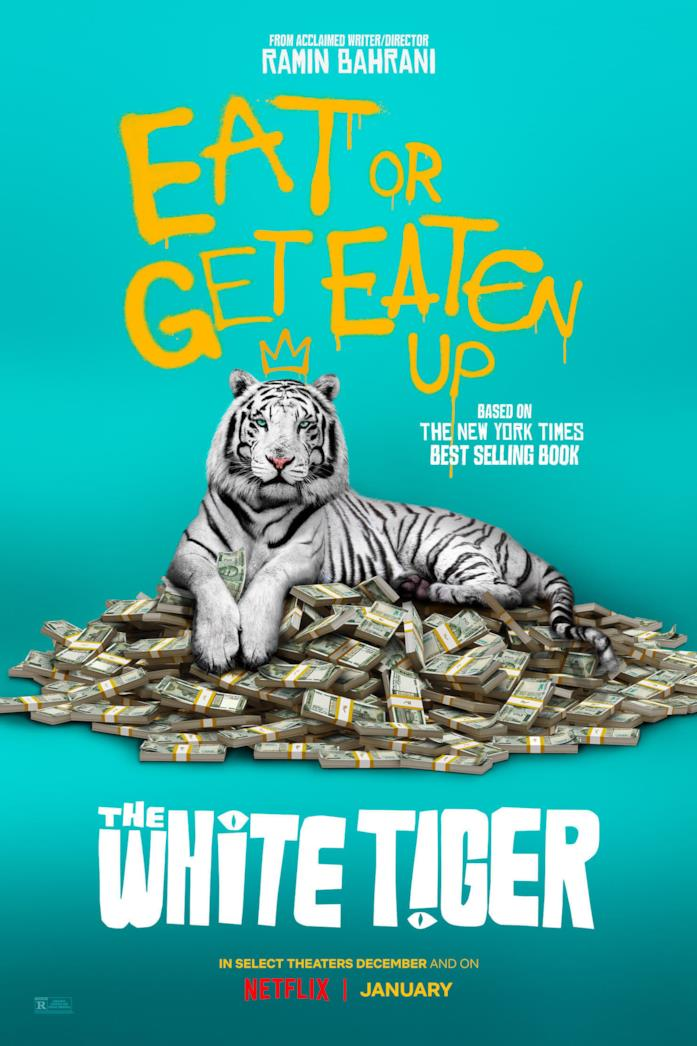 La locandina di The White Tiger