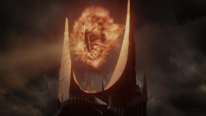 L'occhio infuocato di Sauron