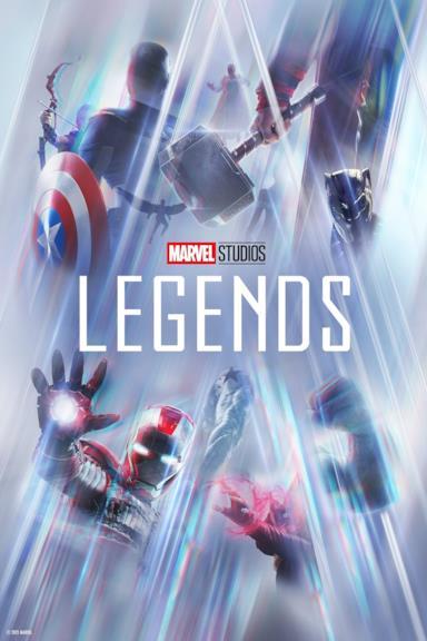 Poster Marvel Studios: Legends