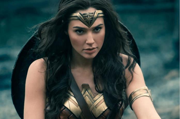 Un'immagine di Gal Gadot nei panni di Wonder Woman