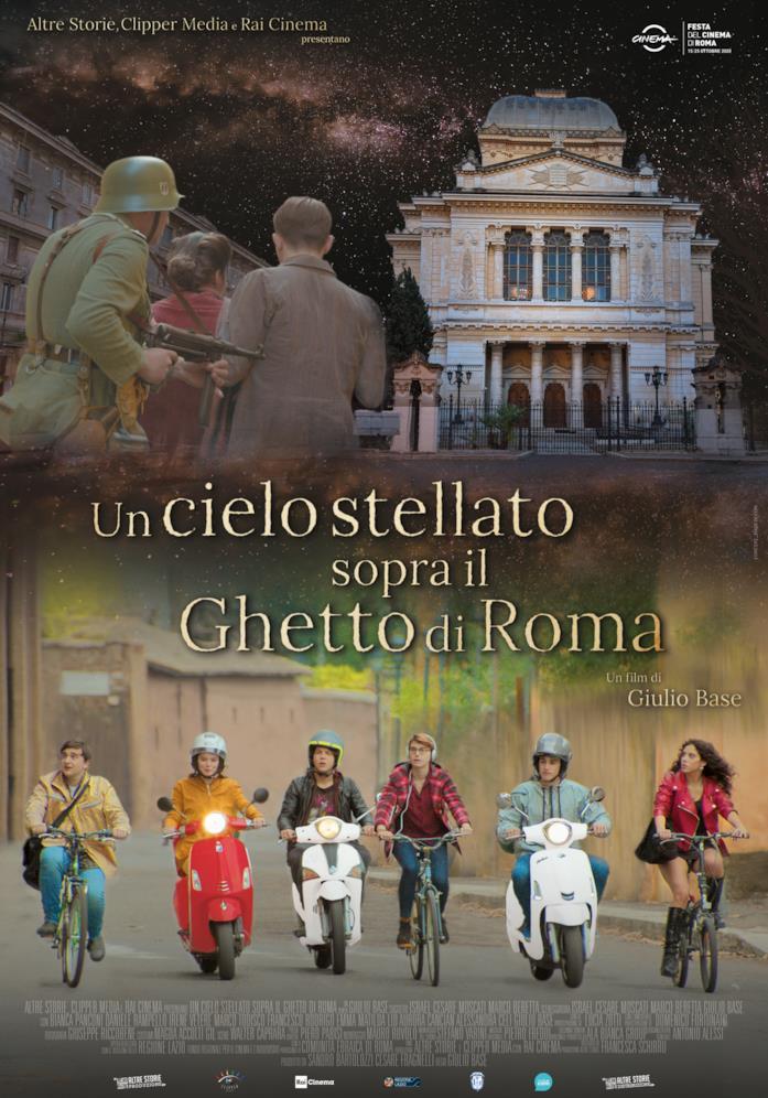Un cielo stellato sopra il ghetto di Roma - manifesto del film