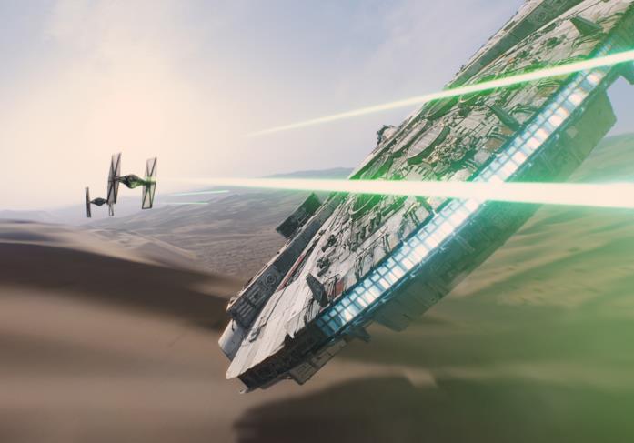Star Wars: Il Risveglio della Forza, il Millennium Falcon