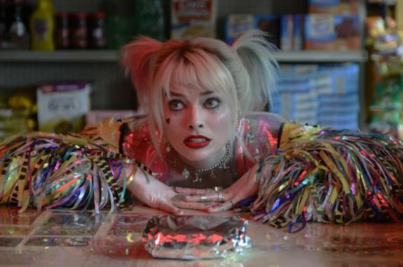 Un'immagine di Margot Robbie come Harley Quinn