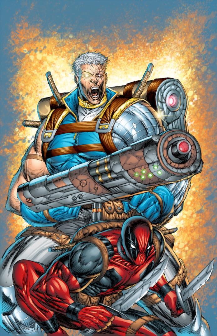La cover del primo numero di Cable & Deadpool