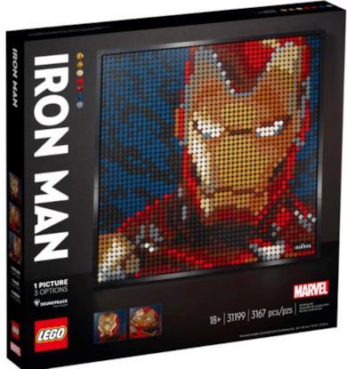Iron Man LEGO Art