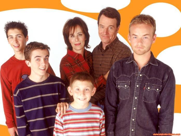 Una foto di famiglia con Malcolm, Lois, Hal e gli altri