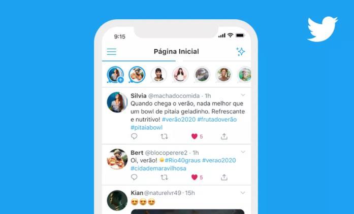 L'interfaccia dell'ultima versione di Twitter per iOS