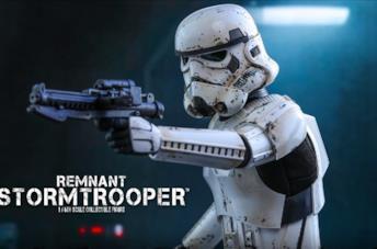 L'action figure Remnant Stormtrooper di Hot Toys