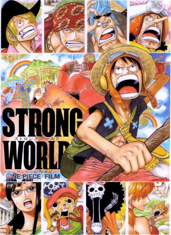 One Piece movie 10 year anime