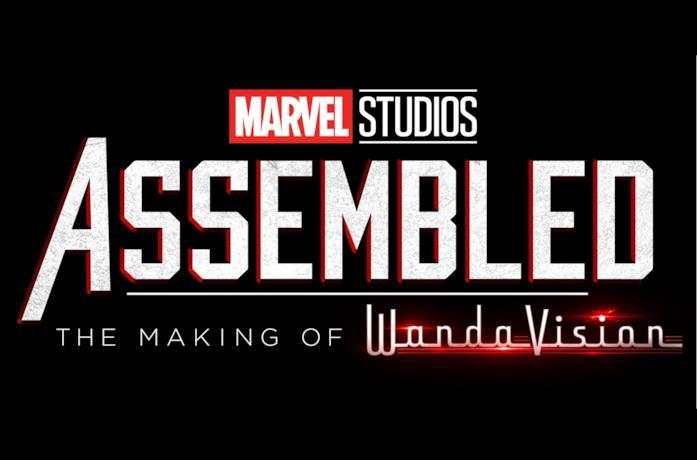 Il logo di Assembled, il making of di WandaVision