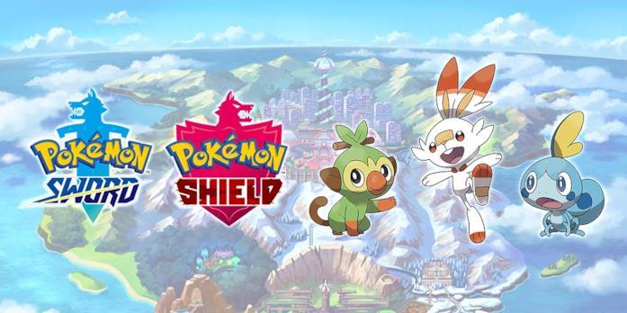 Gli starter di Pokémon Spada e Scudo
