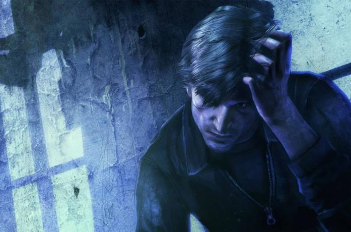 Un concept art dei videogiochi Silent Hill