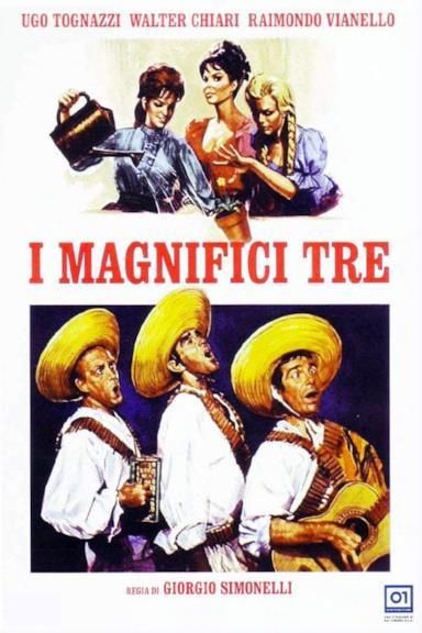 Poster I magnifici tre
