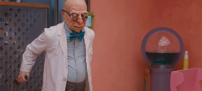 Il Professor Farnsworth in Fan-O-Rama