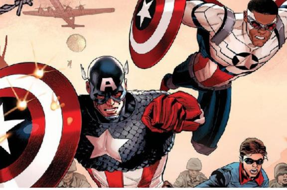 Steve, Bucky, Sam (e non solo): i Capitan America dei fumetti Marvel