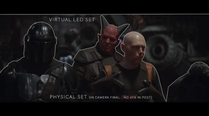 The Mandalorian tecnologia VFX