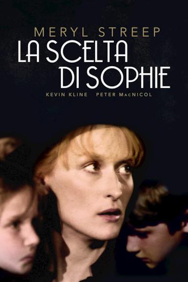 Poster La scelta di Sophie