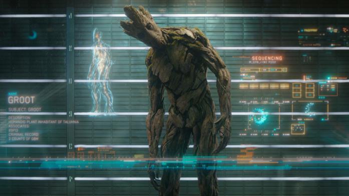 Una foto di Groot