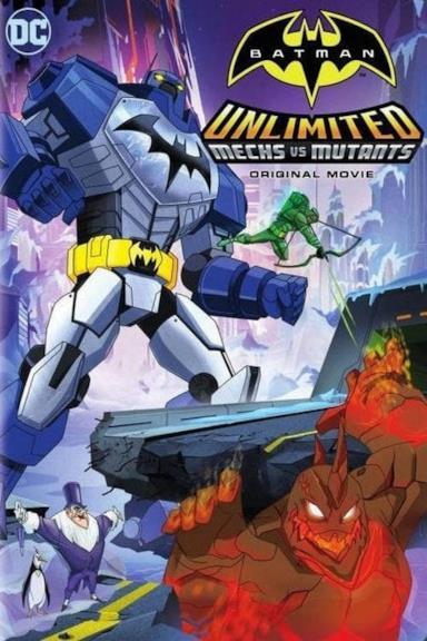 Poster Batman Unlimited: Fuga da Arkham