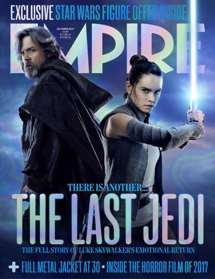Luke e Rey sulla copertina di Empire