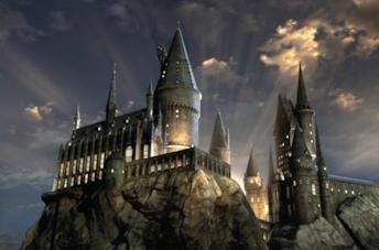 Un'immagine di Hogwarts