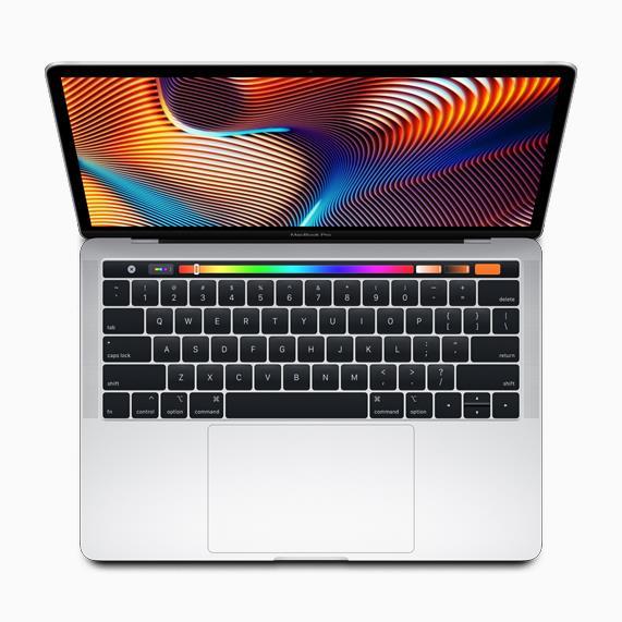 Immagine stampa del nuovo MacBook Pro da 13 pollici