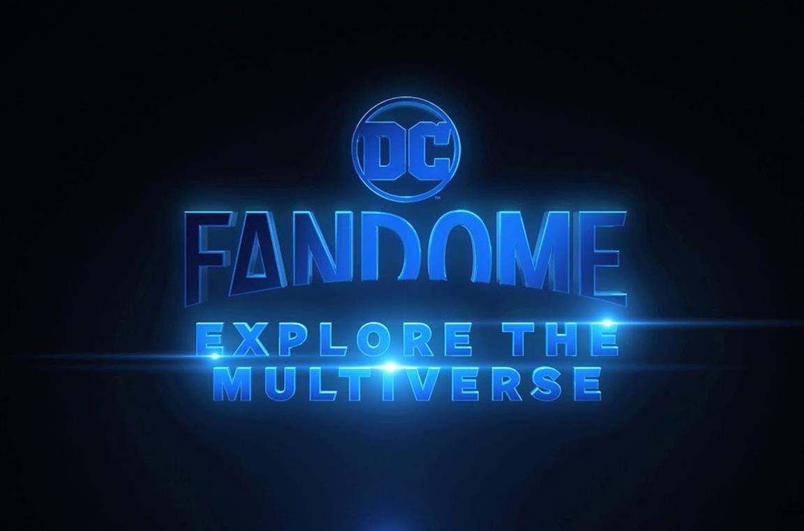 Il logo ufficiale di DC FanDome