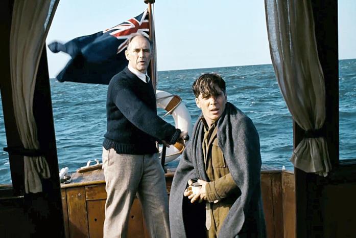 Mark Rylance e Cillian Murphy interpretano il signor Dawson e un soldato