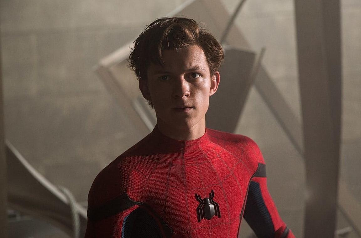 Tom Holland in un'immagine di Spider-Man: Far From Home