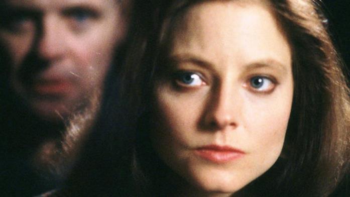 Primo piano di Jodie Foster ne Il silenzio degli innocenti