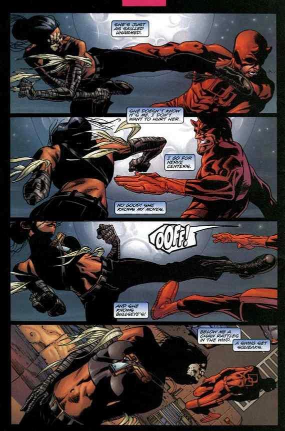 Echo combatte contro Daredevil
