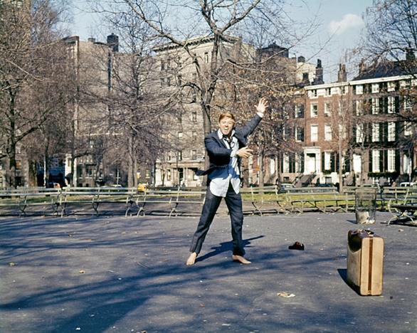 La scena finale di A piedi nudi nel parco