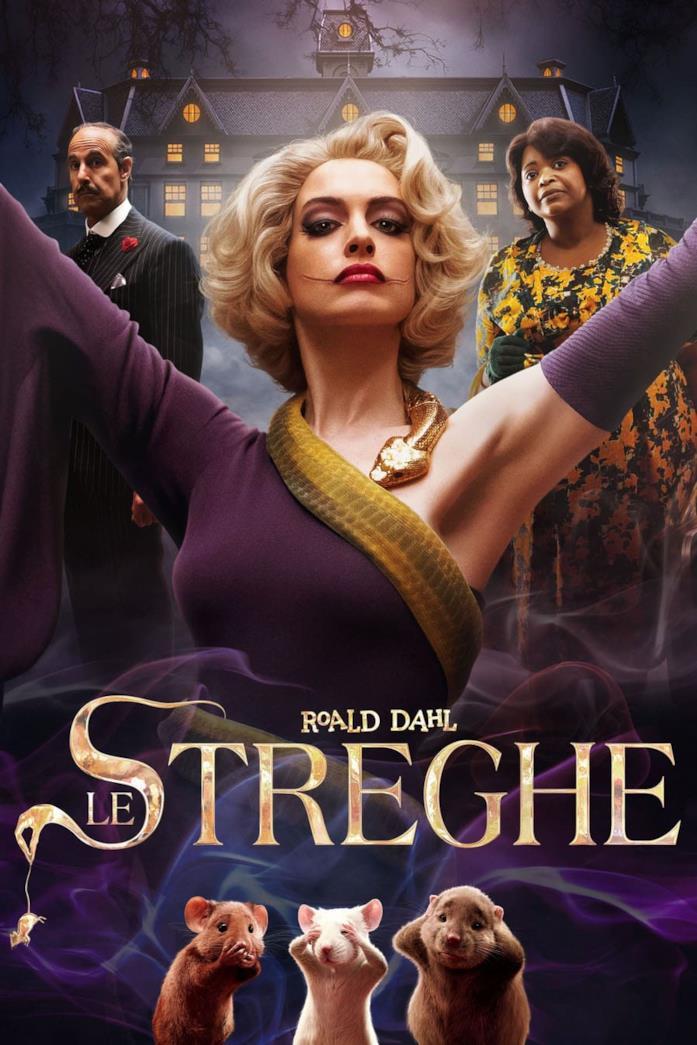 Il cast nel poster de Le Streghe