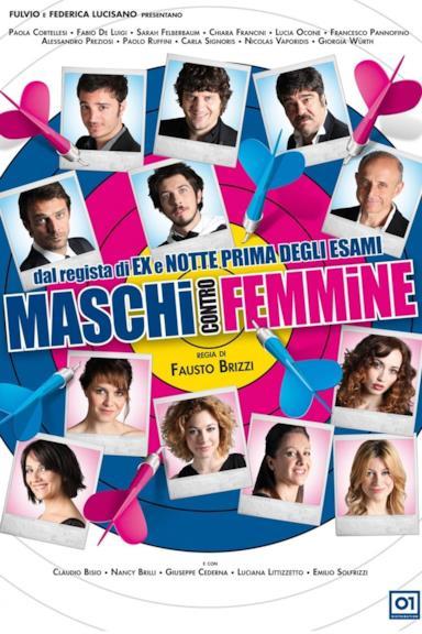 Poster Maschi contro femmine
