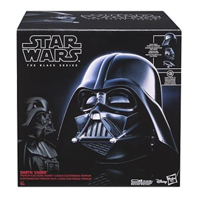 STAR WARS e0328 - Minifigure Black Serie Casco elettronico, 14+